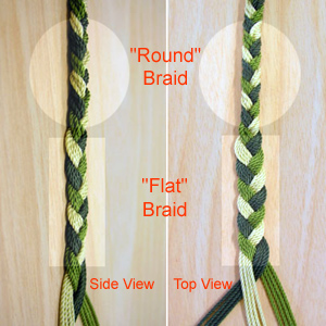 Beginner's Pictorial Braided Sling Instructions - by Dan